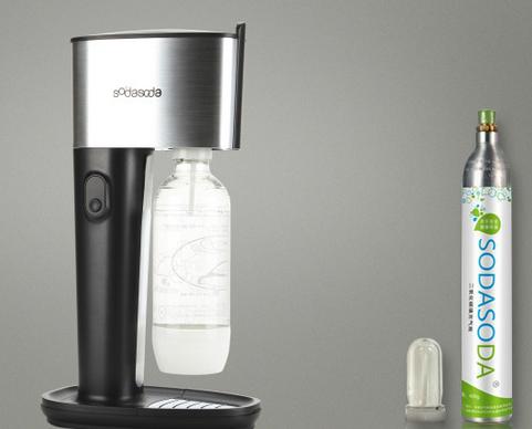 SODASODA气泡水机让你享受在家也可以喝到冰爽气泡水!